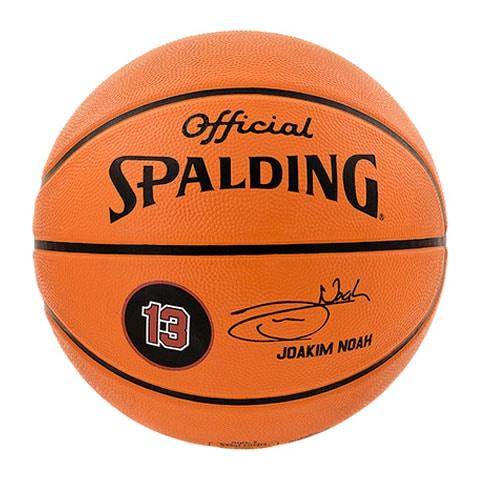 ballon basket spalding joakim noah sports co shop. Black Bedroom Furniture Sets. Home Design Ideas