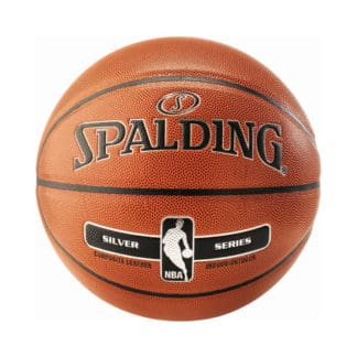 Ballon Basket Spalding NBA Silver indoor outdoor Taille 7 3001595020017