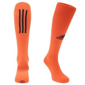 Chaussettes Santos Adidas orange noir 480