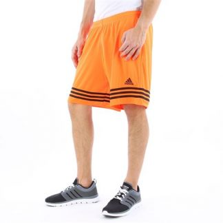 short adidas entrada 14 orange noir f50634 cote