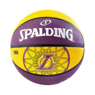 Ballon Basket Spalding NBA Team LA Lakers Taille 7 3001587010617