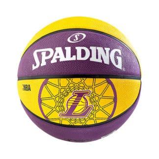 Ballon Basket Spalding NBA Team LA Lakers Taille 7 3001587010617