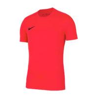 Maillot Nike Park VII Adulte Manches Courtes Saumon Noir BV6708-635