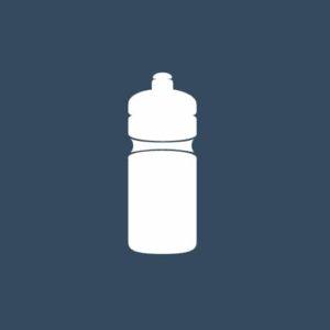 Bidon et bouteille