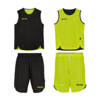 Double Face Kit Reversible Junior Spalding Noir Jaune fluo 300401008