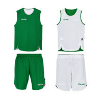 Double Face Kit Reversible Junior Spalding Vert Blanc 300401007