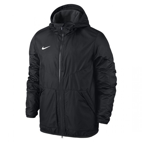 veste-team-fall-noir-Veste Nike team fall - Parka-légère-polaire-645550