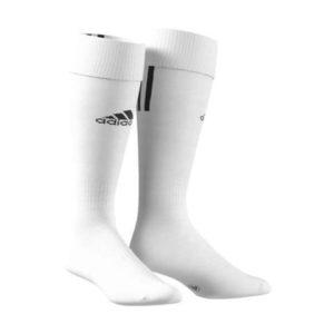 Chaussettes Santos 3 stripe Adidas Blanc Noir Z56222