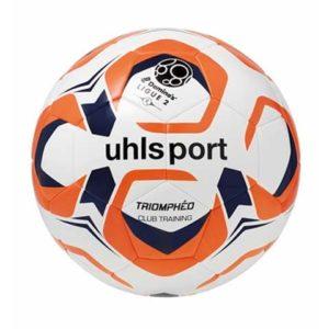 Ballon Ligue 2 Club Training Blanc Marine Rouge Uhlsport