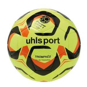 Ballon Ligue 2 Club Training Jaune Noir Orange Uhlsport