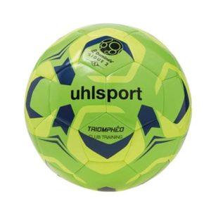 Ballon Ligue 2 Club Training Vert Jaune Bleu Uhlsport