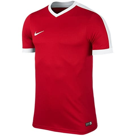 maillot nike striker manches courtes rouge adulte 725892