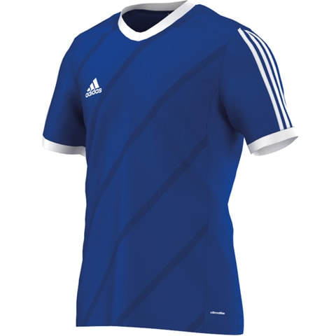 Maillot-Tabela-Manches-Courtes-Adidas-Bleu-F50270