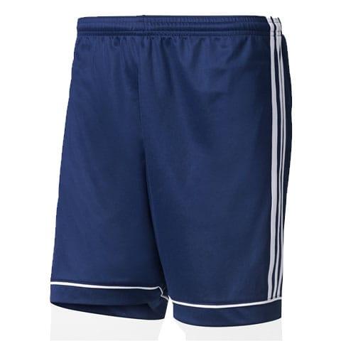Short Squadra 17 Adidas marine blanc BK4767