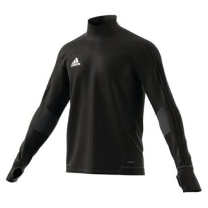 Sweat Top Tiro 17 Adidas noir gris BK0292