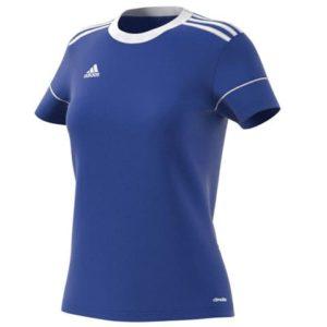 Maillot Squadra 17 Femme Adidas bleu blanc S99155