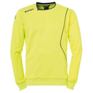 Sweat Curve Training Top Jaune Bleu Kempa