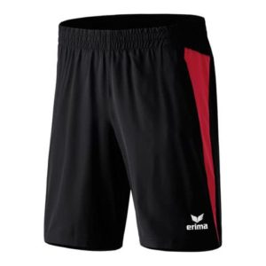 Short Premium One Erima Noir Rouge 109424