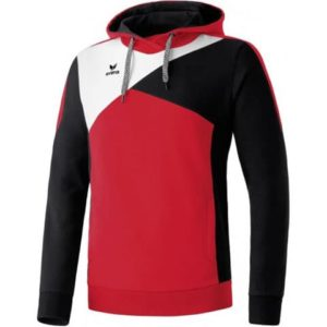 Sweat à capuche Premium One Erima Rouge Noir 107420