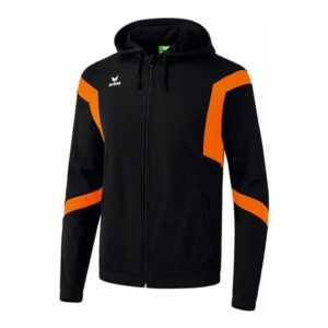 Veste à capuche Classic Team Erima Noir Orange 107673