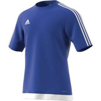 Maillot Adidas Estro 15 Bleu Blanc S16148