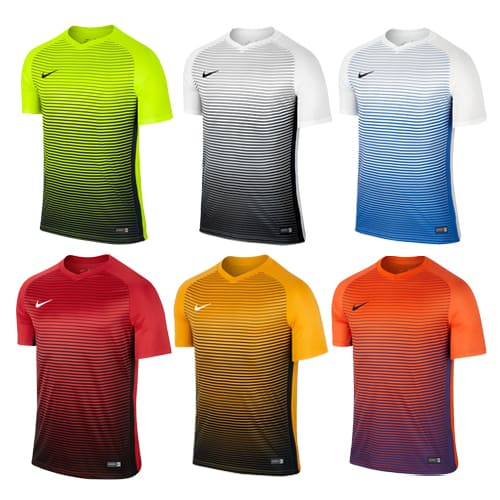 maillots foot nike orange blanc noir