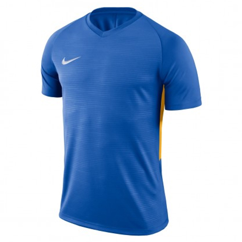 Maillot Nike Tiempo Adulte 894230 464 Bleu royal Or