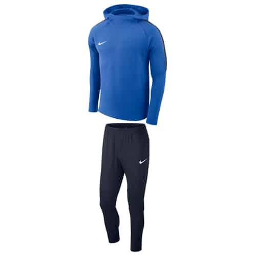 Survêtement Nike à capuche Academy 18 Bleu Marine AH9608 AA2086