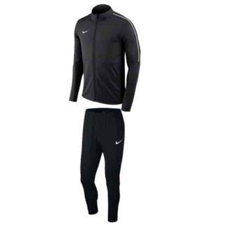 Survêtement-Nike-Park-18-Noir-Blanc-AA2059-AA2086-010