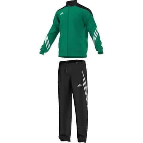 Survêtement Sereno 14 PES Enfant Vert Blanc Adidas