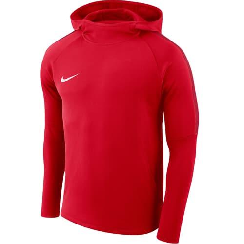 Sweat à capuche Nike Academy 18 Rouge Blanc AH9608 657