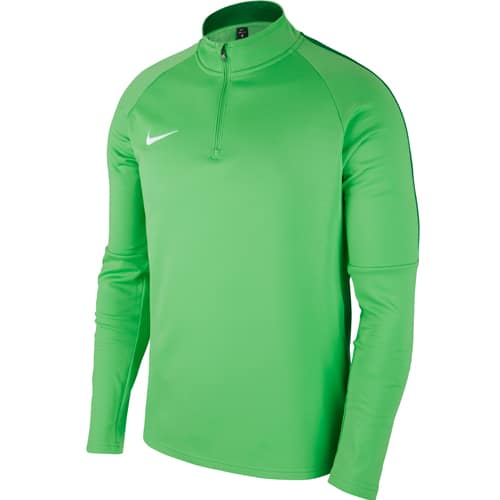 Sweat Nike Academy 18 Vert Blanc 893624 361
