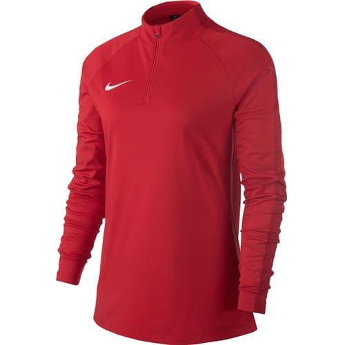 Sweat demi zippé Nike RougeBlanc | FootKorner