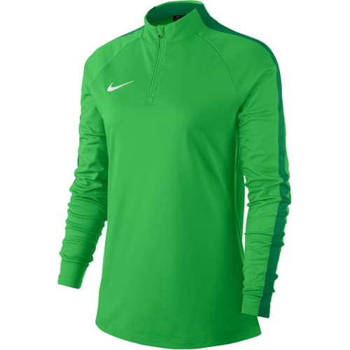 Sweat demi zip Nike Academy 18 Femme ~