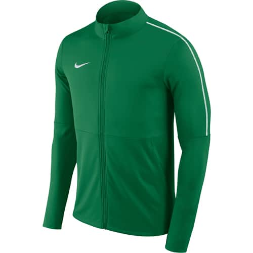 veste de sport nike verte et blanche