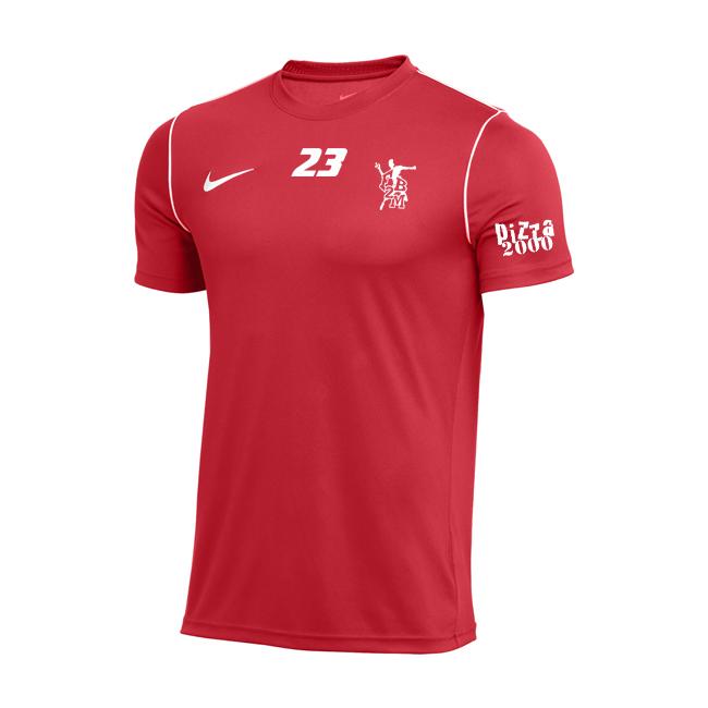 Maillot Nike avec logo FB2M BV6883 BV6905 657 Rouge