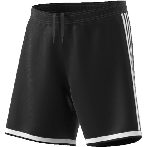 short Adidas Regista 18 Noir Blanc CF9593