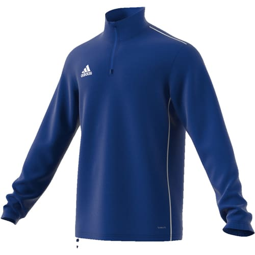Sweat demi zip ADIDAS Core 18 Enfant ~