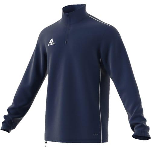 sweat demi zip adidas core 18  u2022 sports co shop