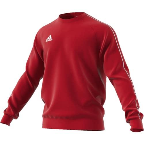 adidas BB W sweat rouge blanc