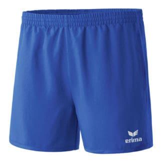 Short femme Erima Club 1900 Bleu Blanc 109333