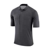 Maillot Arbitre Nike Manches Courtes AA0735 060 Anthracite Gris