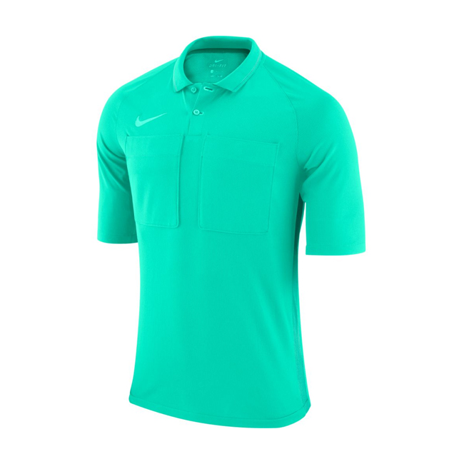 Maillot Arbitre Nike Manches Courtes AA0735 354 Hyper turq Vert