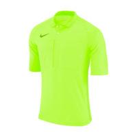 Maillot Arbitre Nike Manches Courtes AA0735 703 Jaune fluo Noir