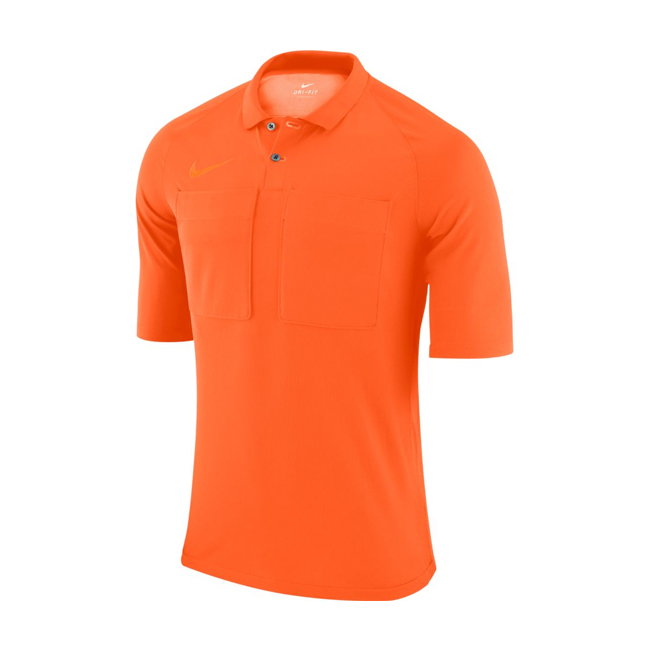 Maillot Arbitre Nike Manches Courtes AA0735 819 Orange Noir