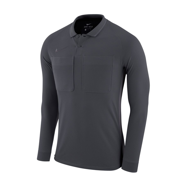 Maillot Arbitre Nike Manches Longues AA0735 060 Anthracite Gris