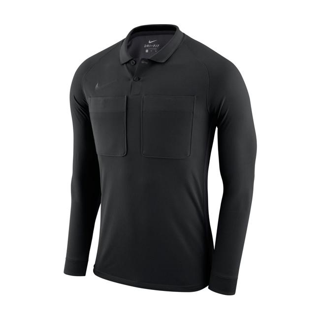 Maillot Arbitre Nike Manches longues AA0736 010 Noir Blanc