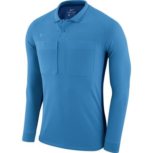 Maillot arbitre Nike 2018 manches longues AA0736 Bleu