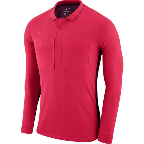 Maillot arbitre Nike 2018 manches longues AA0736 Rose