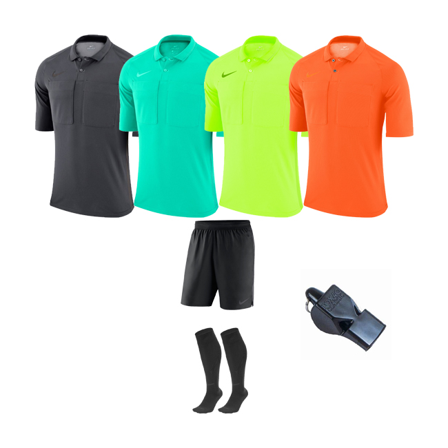 Pack Arbitre Nike 4 maillots+short+chaussettes 2020